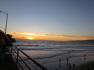 Sunset Santa Monica Pier 2014 (2)